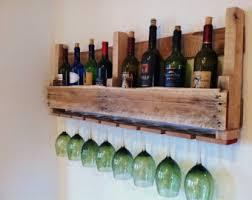 Oak Wine Cabinet Sale Barn Wood Wine Rack Etsy