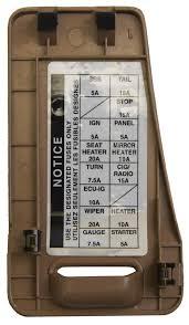 1998 avalon fuse box 1998 wiring diagrams instruction