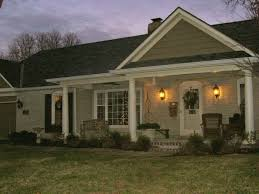 Agape All American Roofing by Adding A Front Porch To The Front Of Your Flat House For The