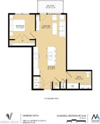 unit layouts u2013 the residences at harbor vista