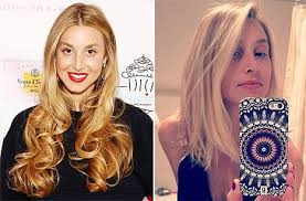 cut and inch off hair whitney port haircut designer debuts long bob after chopping off