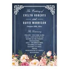 Chalkboard Wedding Program Chalkboard Wedding Invitations Wedding Invitations 100