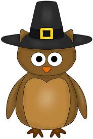 thanksgiving owl owls thanksgivingc2a0clip happy
