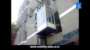 Houses With Elevators Residential Elevator Chennai Hydraulic Home Lifts India Youtube
