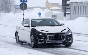 maserati ghibli blacked out 2018 maserati ghibli spied with facelift dubai abu dhabi uae