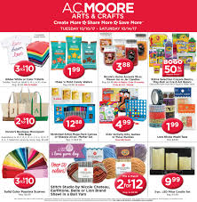view a c moore weekly craft deals