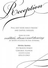 wedding reception only invitation wording uncategorized wedding reception only invitation wording wedding