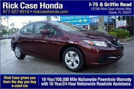 use car honda civic preowned cars certified used cars rick honda