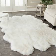 Ikea Area Rugs Area Rugs Sheepskin How To Make A Faux Fur Rug Ikea Bedroom