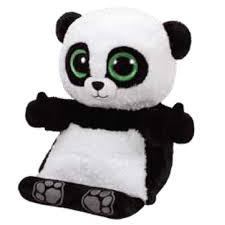 ty beanie boos peek boos poo panda 15 tablet