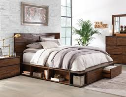 Innovative Queen Storage Bedroom Set Westlake  Pc King Platform - King size bedroom sets art van