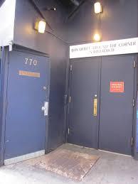Winter Garden Theater Broadway - stage doors on broadway stage elf