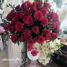 Red Flowers In A Vase Ottawa Flowers Ottawa U0027s Florist Birthday Wedding Funeral