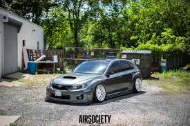 subaru stance subaru wrx sti air lift accuair brada airsociety bagged stance 010