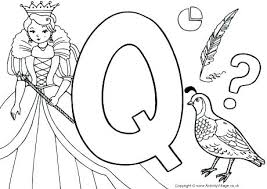 coloring page for toddlers alphabet coloring pages toddlers letter q