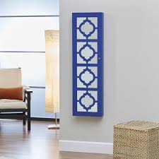 decorating coaster accent wall mount jewelry armoire for home