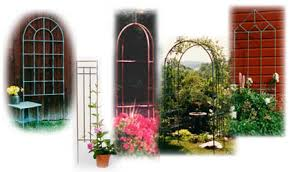 Garden Trellis Archway Sycamore Creek Garden Furnishings Handcrafted Copper Garden