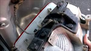 vw touran rear light replacement