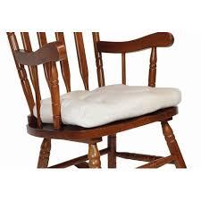 Rocking Chair With Cushions Shermag Rocking Chair Cushion Walmart Com