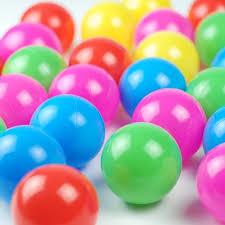 2016 colorful balls baby marine plastic small non toxic