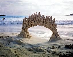 peculiar abstract sandcastles by u0027sandcastle matt u0027 colossal