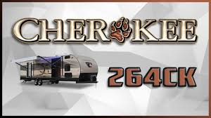2018 forest river cherokee 264ck travel trailer rv for sale
