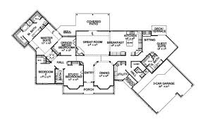 country house plan first floor plans more building plans online