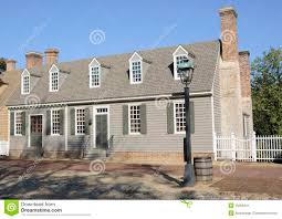 colonial style american colonial style house stock image image 16256841