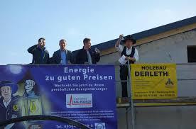 Bad Rodach Rad Rodach Feiert Richtfest Auf Dem Hochbehälter