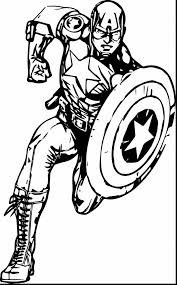 superb avengers captain america coloring pages with captain
