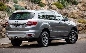 Ford Everest Facelift Comparison Ford Everest Titanium 2017 Vs Mitsubishi