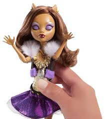 monster high clawdeen wolf halloween costume monster high ghouls alive clawdeen wolf doll amazon co uk toys