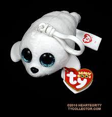 icy clip size ty beanie boos seal