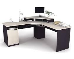 L Gaming Desk Furniture Bestar Hton Laminate Gaming Desk Bestar Hton
