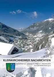 Wetter Bad Kleinkirchheim Kleinkirchheimer Nachrichten Ausgabe 12 2016 By Gemeinde Bad