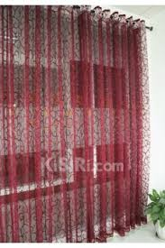 2017 cheap red sheer curtains sales online kisiri com