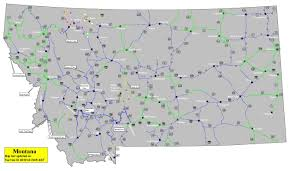 Montana County Map by Montana Road Conditions Updated Ktvq Com Q2 Continuous