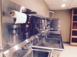 Commercial Kitchen Backsplash Teen Room Ideas For Teenage Girls Blue And Black Backsplash