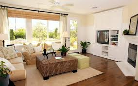 how to design a rectangular living room
