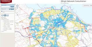Edinburgh Map Edinburgh Defends Air Quality Benefits Of 20mph Roads Air