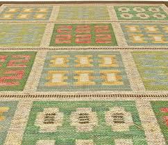 Flat Rug Vintage Swedish Flat Weave Rug By Svensk Hemslojd Bb5820 By Doris