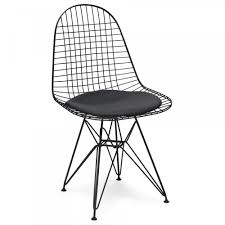 the inventors style black dkr wire chair the inventors from only