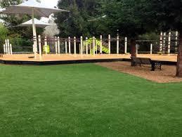 Synthetic Grass Backyard Green Lawn Greenback Tennessee Playground Turf Backyard Ideas