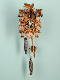 authentic black forest cuckoo clock carved in germany