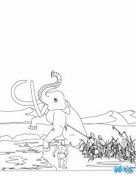 homo sapiens coloring pages homo sapiens group hunting mammoth