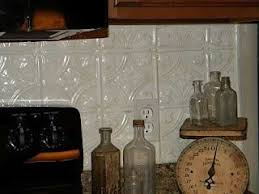 Best Tin Ceilings  Backsplashes Images On Pinterest Tin - Tin ceiling backsplash
