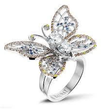 design an engagement ring white gold diamond rings 2 00 carat diamond butterfly baunat