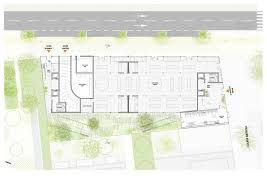 Office Building Floor Plan Gallery Of Nl A Reveals Plans For Open Concept Green Office