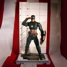 Diamond Hoggers Part 175 - captain america unmasked action figure marvel select 7