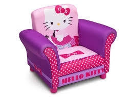 hello kitty upholstered chair delta childrens products children